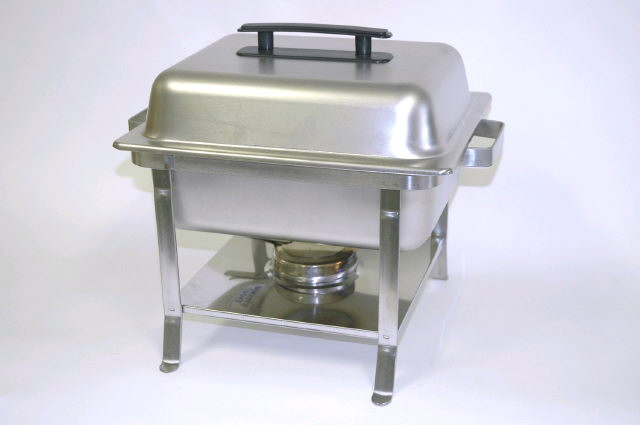 Where to find CHAFER 4QT SQUARE, STAINLESS WOOD in Denver