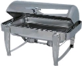 Where to rent CHAFER 8QT RECTANGLE, DOME SILVER in Denver NC
