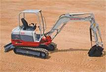 Where to find TRACKHOE TAKEUCHI TB235 W THUMB 24 BUCK in Denver