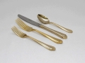 Where to rent GOLD FIORI FLATWARE in Denver NC