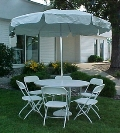 Where to rent Umbrella Table in Denver NC