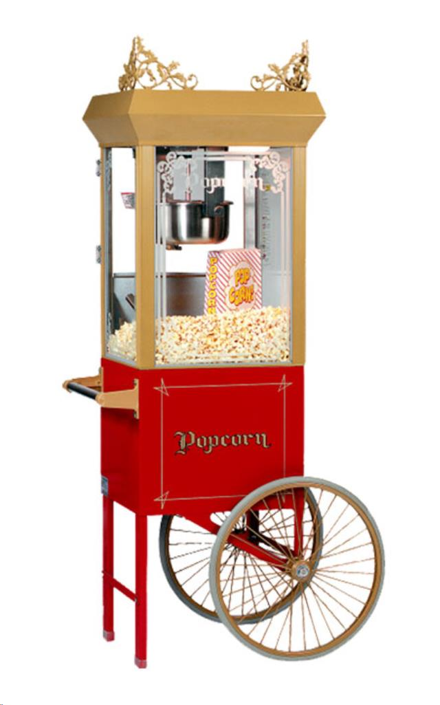 Where to find POPCORN MACHINE CART SUB in Denver