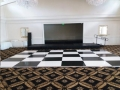 Where to rent DANCE FLOOR 16FT X 18FT BLACK   WHITE in Denver NC