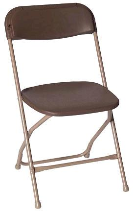 Where to find CHAIR BROWN FOLDING in Denver