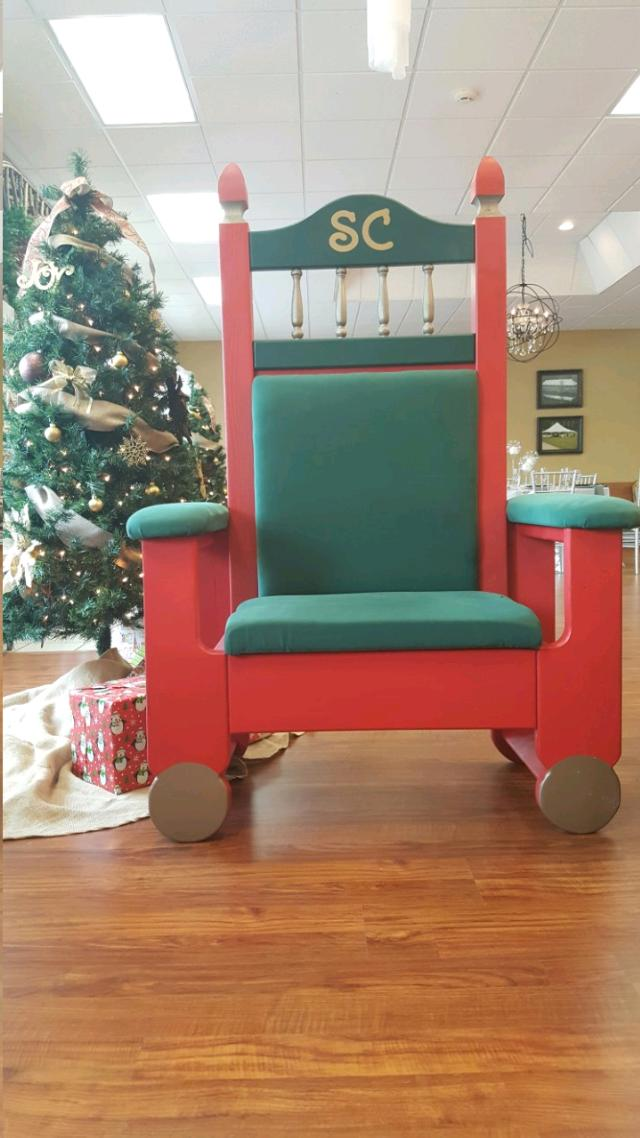 Where to find SANTA CHAIR in Denver