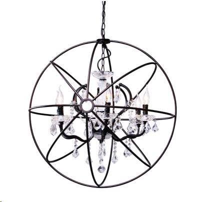 Where to find ROUND GLASS  CRYSTAL CHANDELIER in Denver