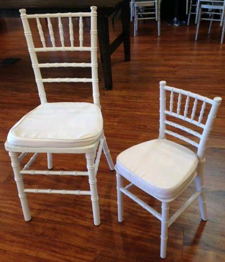 Where to find KIDS CHIAVARI CHAIRS WHITE in Denver