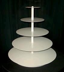 Where to find CUPCAKE STAND 5TIER WHITE in Denver