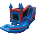 Where to rent INFLATABLE JUMP N SPLASH CASTLE W  SLIDE in Denver NC