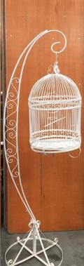 Where to rent BIRD CAGE, WHITE, IRON in Denver NC