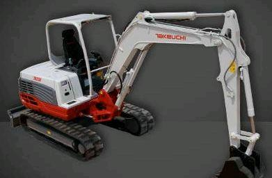 Where to find TRACKHOE TAKEUCHI TB250 W THUMB in Denver