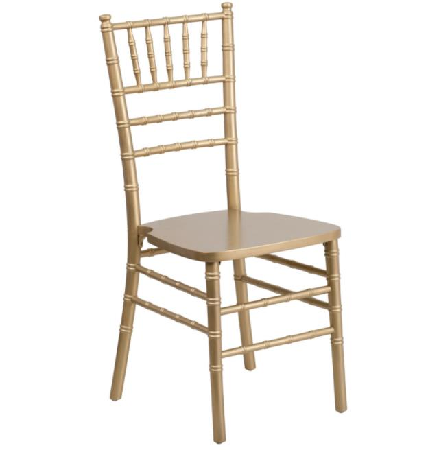 Where to find CHAIR CHIAVARI GOLD RESIN in Denver