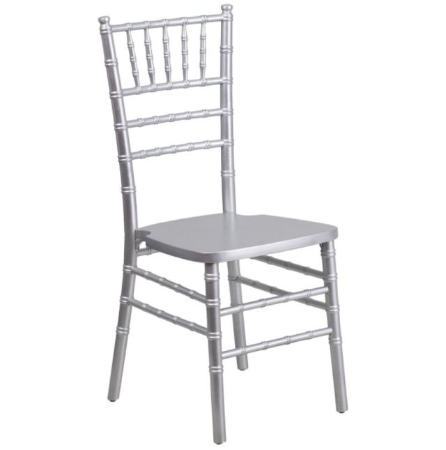 Where to find CHAIR CHIAVARI SILVER RESIN in Denver
