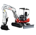 Where to rent TRACKHOE TAKEUCHI TB240 W THUMB 24 BUCK in Denver NC
