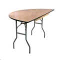 Where to rent TABLE 5FT HALF ROUND in Denver NC