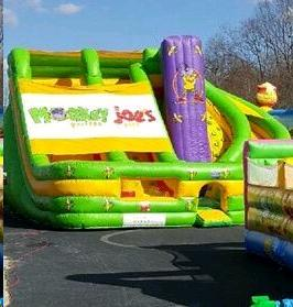Inflatable Monkey Joe Climb Slide Rentals Denver Nc Where