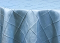 Where to rent LIGHT BLUE PINTUCK LINENS in Denver NC