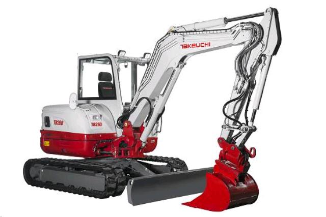 Where to find TRACKHOE TAKEUCHI TB260 W THUMB in Denver