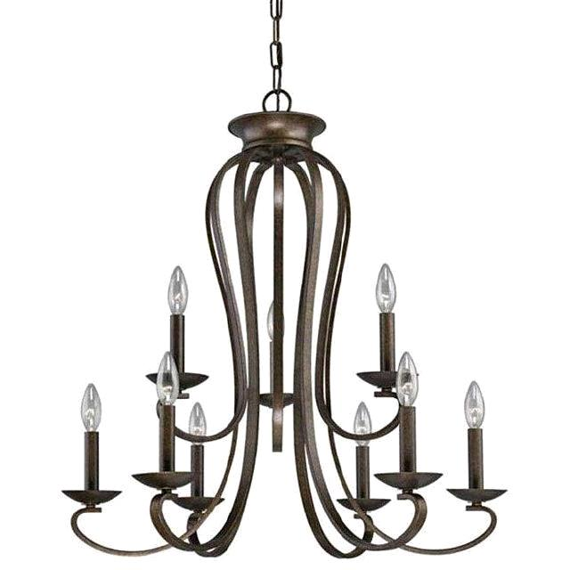 Where to find CHANDELIER BRONZE 9 LT SUB in Denver