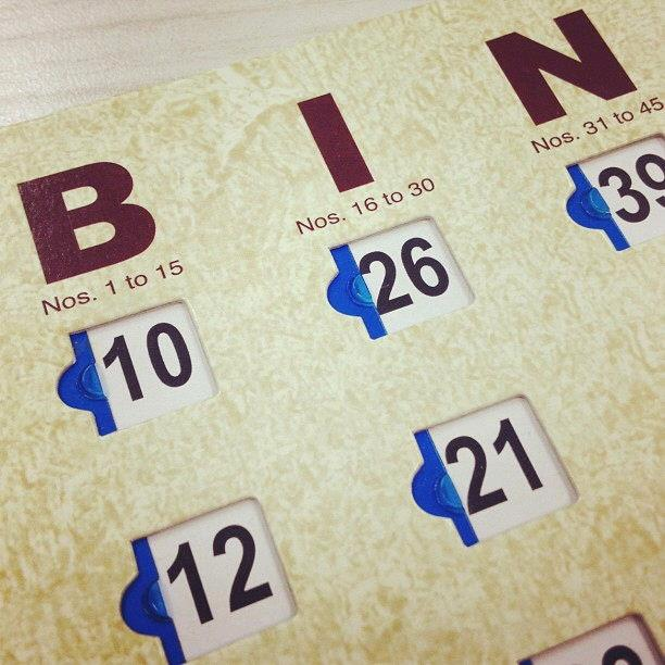 Where to find BINGO CARDS QTY 100 in Denver