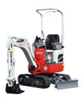 Where to rent TRACKHOE TAKEUCHI TB210 in Denver NC
