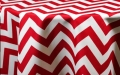 Rental store for RED CHEVRON LINENS in Denver NC
