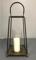 Rental store for LANTERN BRONZE CANDLE in Denver NC