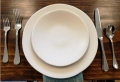 Where to rent HEIRLOOM LINEN DINNER PLATE in Denver NC