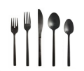 Where to rent BRUSHED BLACK FLATWARE in Denver NC