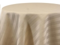 Rental store for IVORY SATIN STRIPE LINENS in Denver NC