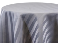 Rental store for GREY SATIN STRIPE LINENS in Denver NC
