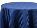 Rental store for NAVY SATIN STRIPE LINENS in Denver NC