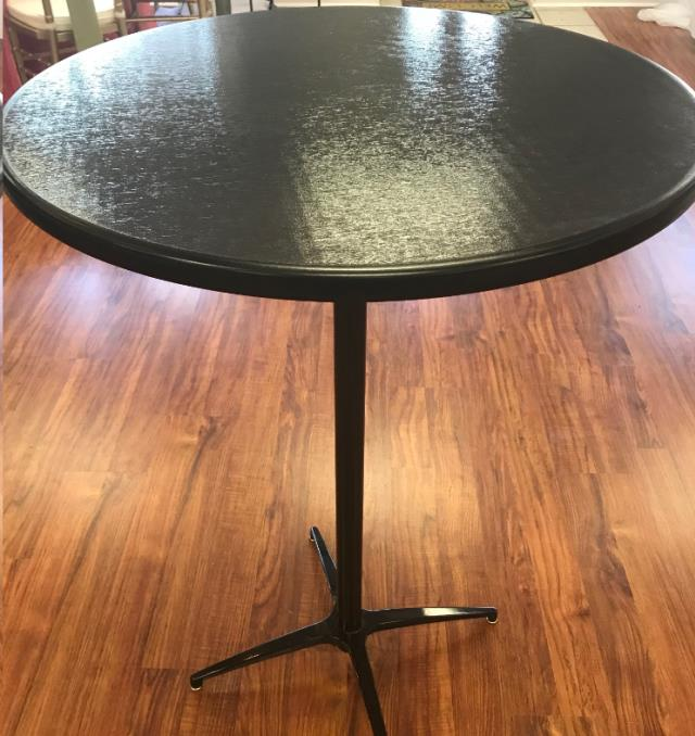 Where to find COCKTAIL TABLE BLACK RND 30 in Denver