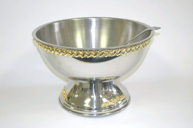 Where to find PUNCH BOWL W GOLD TRIM 5 GL in Denver