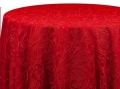 Rental store for PAISLEY LACE RED LINENS in Denver NC