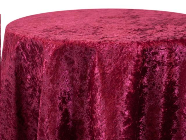 Where to find CRUSHED VELOUR BURGUNDY LINENS in Denver
