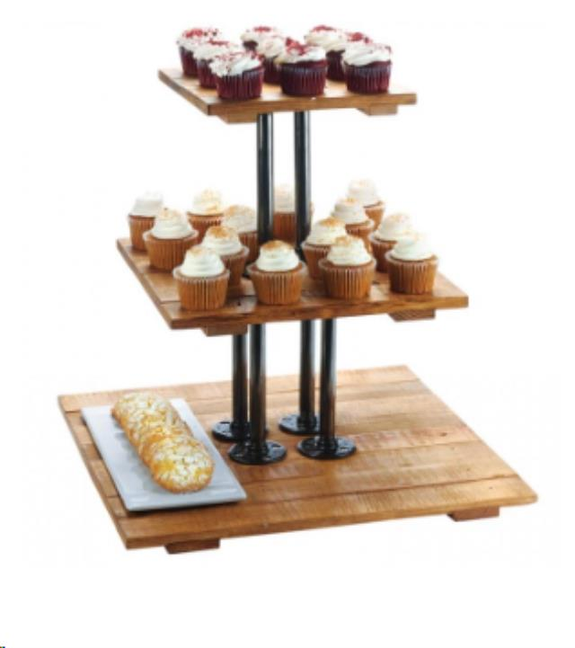 Where to find RUSTIC 3 TIER DISPLAY STAND in Denver