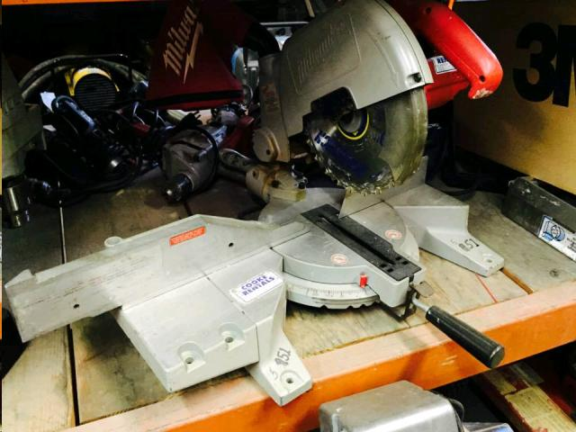 Where to find COMPOUND MITRE SAW 10 in Denver