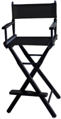 Rental store for DIRECTOR CHAIR BLACK SUB in Denver NC