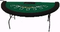 Where to rent BLACK JACK TABLE in Denver NC