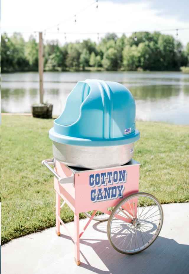 Where to find COTTON CANDY W CART in Denver