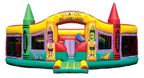 Where to find INFLATABLE CRAYON PLAYLAND OBSTACLE in Denver