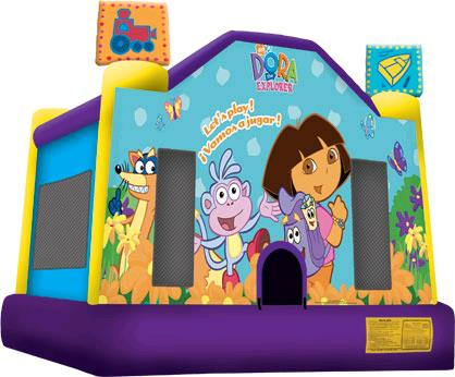 Where to find INFLATABLE BOUNCE DORA EXPLORER 12X13 in Denver