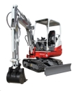 Where to rent TRACKHOE TAKEUCHI TB228 18  W Thumb in Denver NC