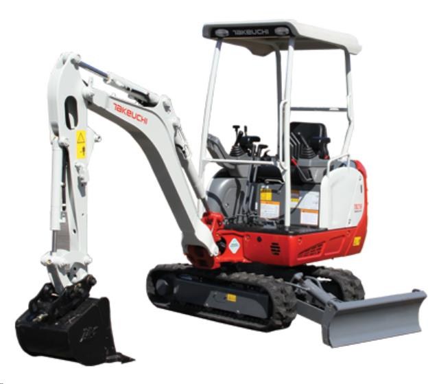 Where to find TRACKHOE TAKEUCHI TB216 in Denver