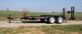 Where to rent TRAILER 7 X18  5 TON W DOVE TAIL in Denver NC