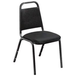 Where to find CHAIR BLACK PADDED STACKABLE in Denver