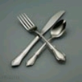 Where to rent STAINLESS DINNER FORK in Denver NC