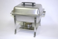 Where to rent CHAFER 4QT RECTANGLE, STAINLESS in Denver NC