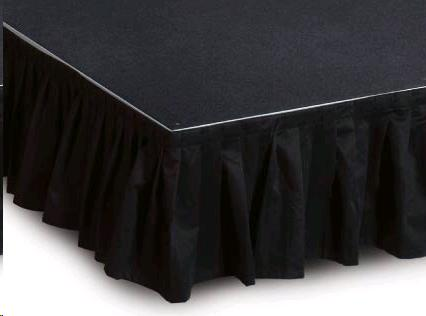 Where to find STAGE SKIRT 25 X12  BLACK in Denver
